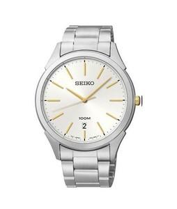 Seiko Classic Mens Watch Silver (SGEG71)