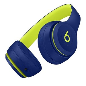 Beats Solo 3 Wireless Bluetooth On-Ear Headphones Pop Indigo