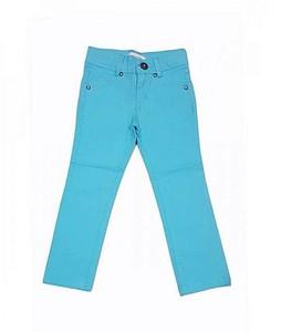 Bindas Collection Cotton Pant For Girls Aqua Green (IL-0233)