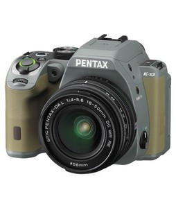 Pentax K-S2 DSLR Camera Forest Green With 18-50mm Lens