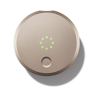 August Smart Lock - Keyless Home Entry with Your Smartphone - Champagne