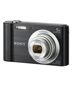 Sony Cyber-Shot Digital Camera Black (DSC-W800) - Official Warranty