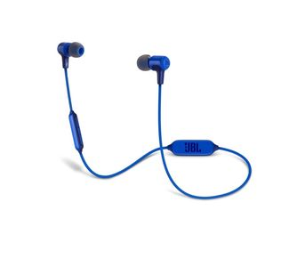 JBL E25BT Wireless Bluetooth In-ear Headphones - Blue