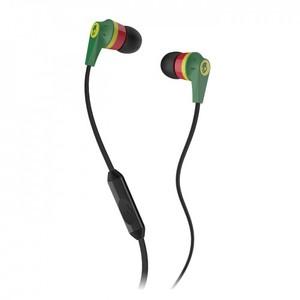 Skullcandy Inkd 2.0 Earbud Headphones with Mic (Rasta)