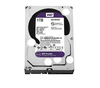 Western Digital Purple Surveillance Hard Drive - 1TB