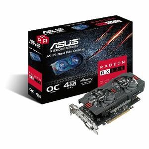 ASUS AMD Radeon RX 560 4GB Graphics Card