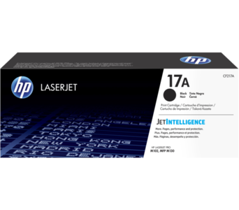 HP CF217A 17A Black Original LaserJet Toner Cartridge