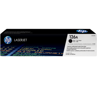 HP Toner CE310A 126A Black
