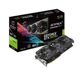 ASUS ROG-STRIX-GTX1070TI-A8G-GAMING GeForce 8GB GDDR5 Graphic Card