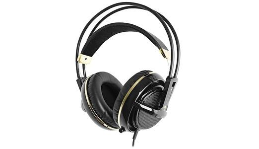 SteelSeries Siberia V2 Full Sized Headset (Black/Gold)