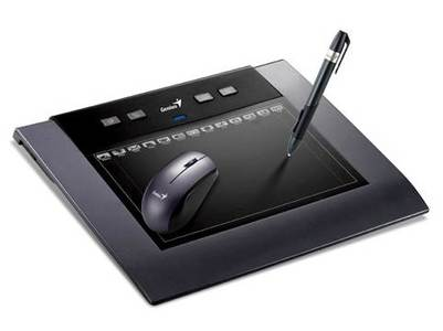 Genius MousePen M508W Wireless 5âx8❠multimedia Tablet for designers