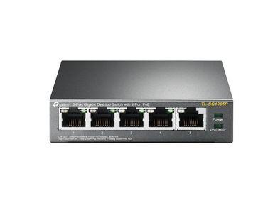 TP-Link TL-SG1005P 5-Ports Gigabit Desktop Switch With 4-Port PoE