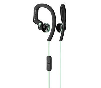 SkullCandy Chops Flex Sport Earbuds with Mic - Mint/Black