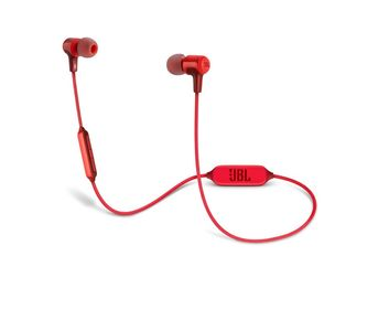 JBL E25BT Wireless Bluetooth In-ear Headphones - Red