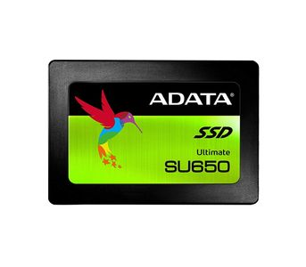"Adata SU650 3D-NAND 2.5\"" SATA III Solid State Drive - 120GB"