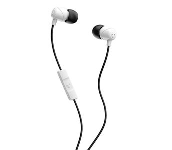 Skullcandy JIB In-Ear Ear Buds with Mic - White/Black