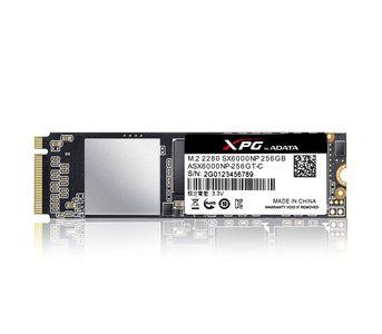 Adata XPG SX6000 Pro PCIe Gen3x4 M.2 2280 SSD - 256GB