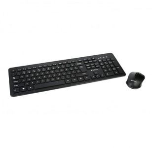Verbatim Wireless Keyboard And Mouse Combo  Black