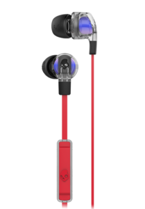 Skullcandy Smokin Buds 2 w Mic (Spaced Out Clear/Black)