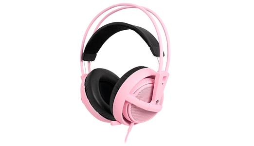 SteelSeries Siberia V2 Full Sized Headset (Pink)