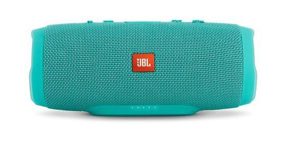 JBL Charge 3 Waterproof Portable Bluetooth Speaker (Teal)