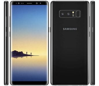 Samsung Galaxy Note 8 (4G - 64GB Dual Sim) - Midnight Black