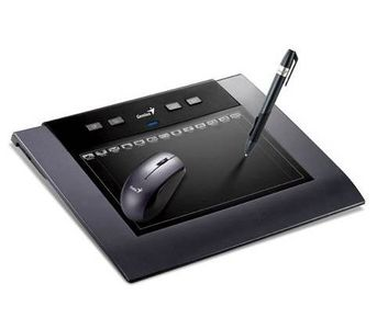 Genius MousePen M508W Wireless 5âx8❠multimedia Tablet for designers