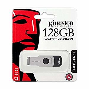 Kingston DataTraveler Swivl DTSWIVL 3.0 USB Flash Drive  128GB