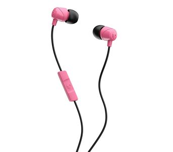 Skullcandy JIB In-Ear Ear Buds with Mic - Pink/Black