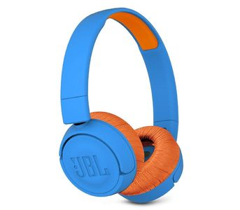 JBL JR300BT Kids Wireless on-ear headphones - Rocker Blue