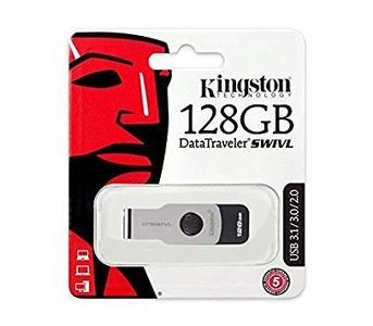 Kingston DataTraveler Swivl DTSWIVL 3.0 USB Flash Drive - 128GB