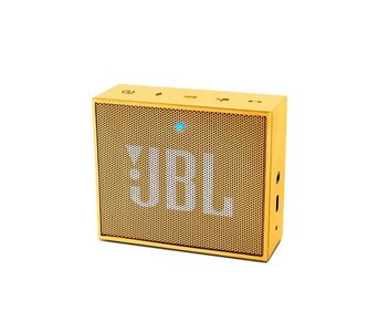 JBL GO Portable Wireless Bluetooth Speaker (Yellow)