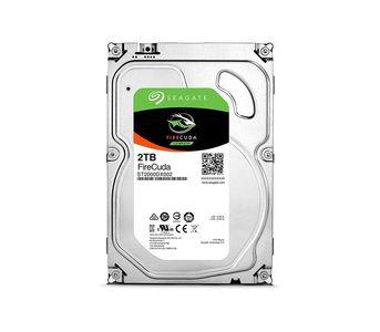 "Seagate FireCuda 2000GB SSHD - SATA 7200 RPM 6GB/S 64MB Cache 3.5\"" Hard Drive"