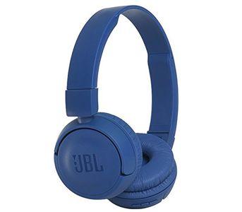 JBL T450BT Wireless Bluetooth On-Ear Headphones - Blue