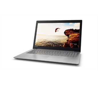 """Lenovo Ideapad 320 Ci3-8130U 4GB DDR4 1TB 15.6\""""HD LED DOS - Platinum Grey"""