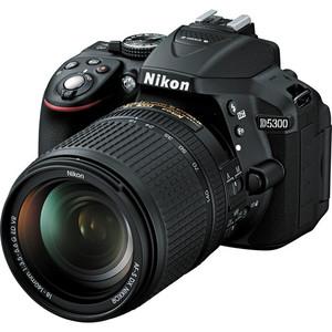 Nikon D5300 DSLR Camera with 18-140mm Lens (Black)