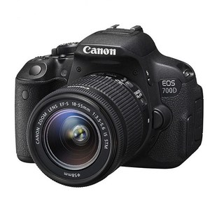 Canon EOS 700D DSLR Camera with EF-S 18-55mm