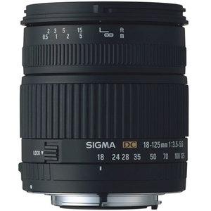 Sigma 18-125mm f/3.8-5.6 AF DC OS HSM Zoom Lens