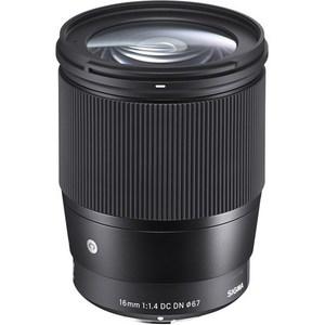 Sigma 16mm f/1.4 DC DN Contemporary Sony E Mount Lens
