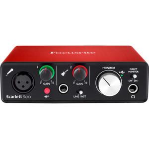 Focusrite Scarlett Solo USB Audio Interface (2nd Generation)
