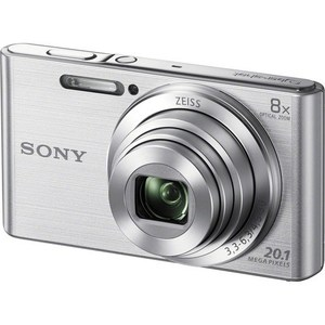 Sony DSC-W830 Digital Camera Black & Sliver
