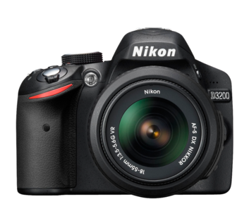 Nikon D3200 DSLR Camera With 18-55mm VR II Lens