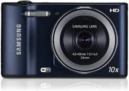 Samsung WB30F Smart Digital Camera (Cobalt Black)