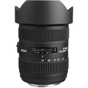 Sigma 12-24mm f/4.5-5.6 EX DG ASP HSM II Wide-Angle Zoom Lens