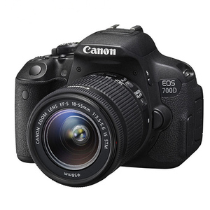 Canon EOS 700D DSLR Camera with EF-S 18-55mm III Lens