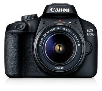 Canon 3000D DSLR Camera with 18-55mm DC III Lens