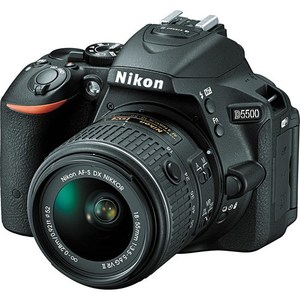 Nikon D5500 DSLR Camera with 18-55mm VR Lens (Camtronix Warranty)