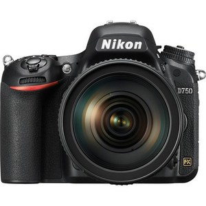 Nikon D750 DSLR Camera with 24-120mm  F4 Lens (Camtronix Warranty)