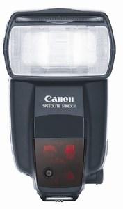 Canon Speedlite 580EX II for DSLR Camera