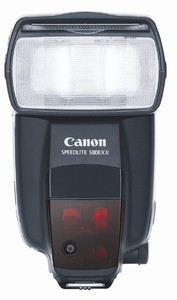 Canon Speedlite 580EX II for DSLR Camera